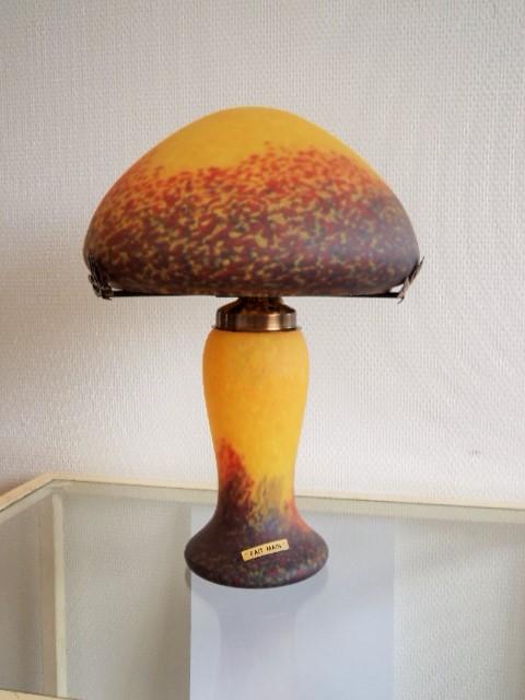 Lampes Pate De Verre Cristallerie Pierre De Lune Cadeaux
